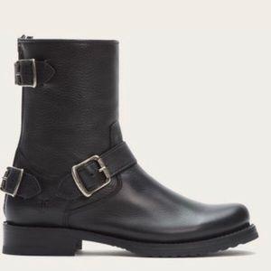 Frye Veronica Back Zip Short Moto Boots 7.5